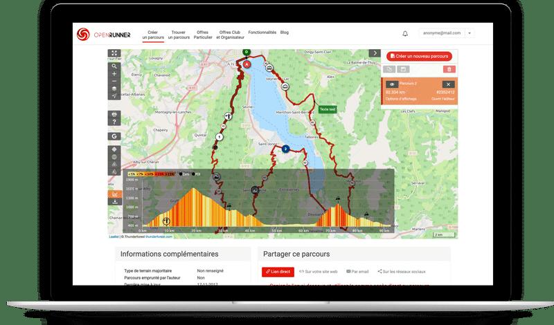 OpenRunner : planifiez vos parcours de randonnée