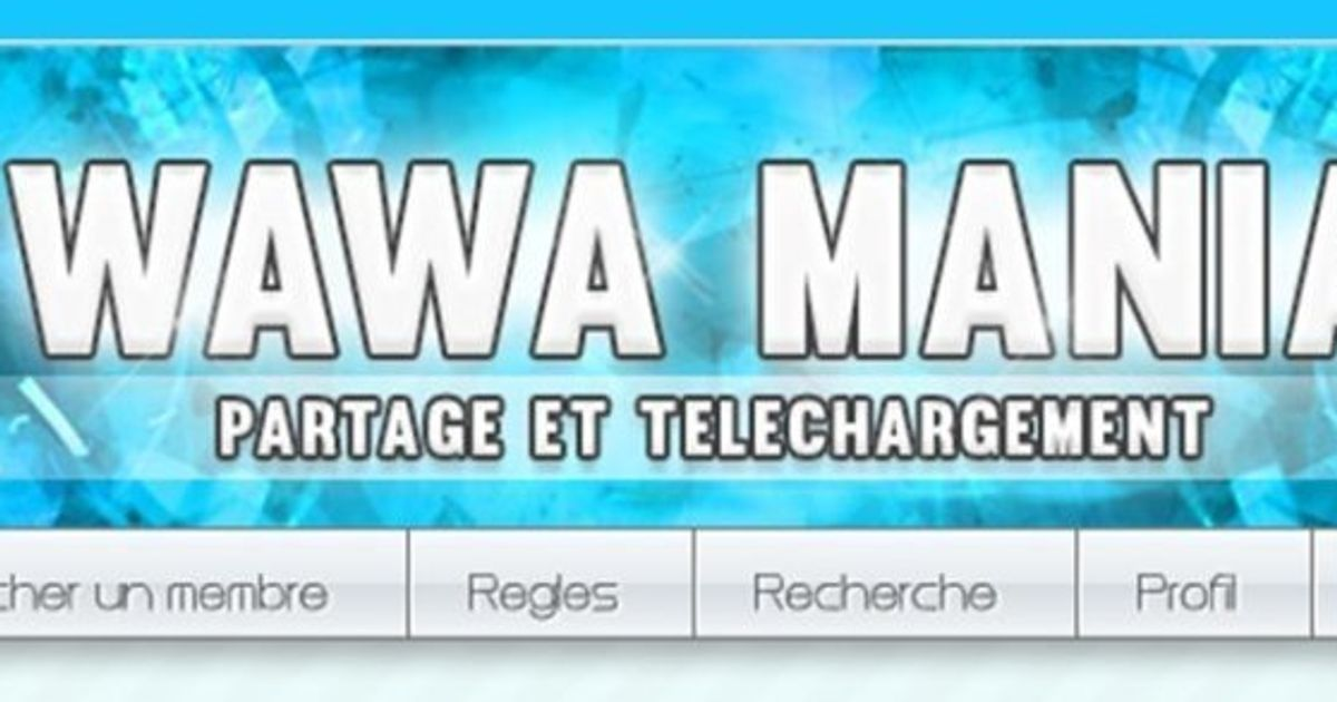 Wawa-Mania : Échangez vos contenus avec d'autres internautes
