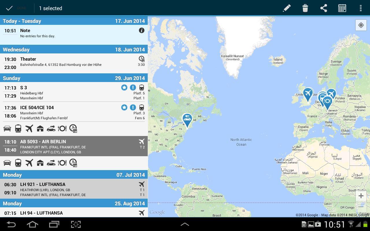 CheckMyTrip : Votre appli pour vos voyages personnels