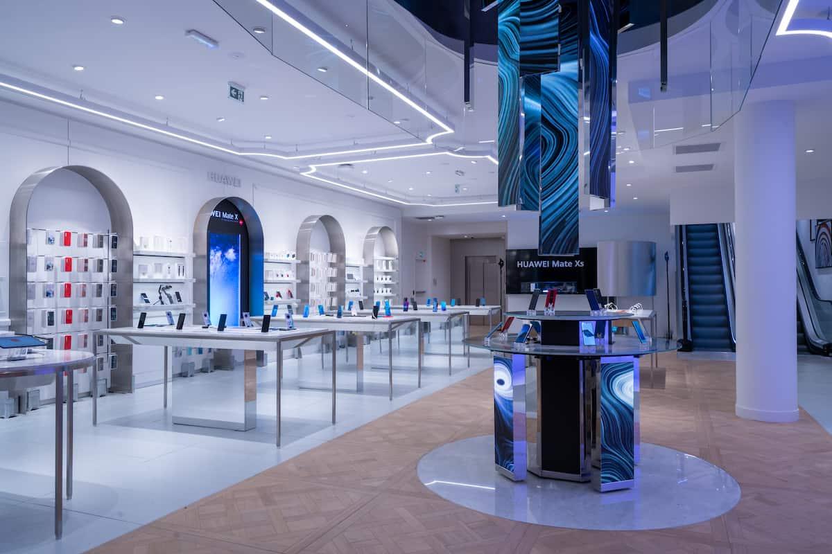 Huawei ouvre son premier store en France !