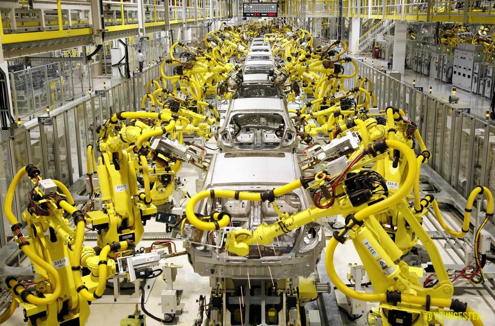 La robotique industrielle est-elle l'avenir des usines ?