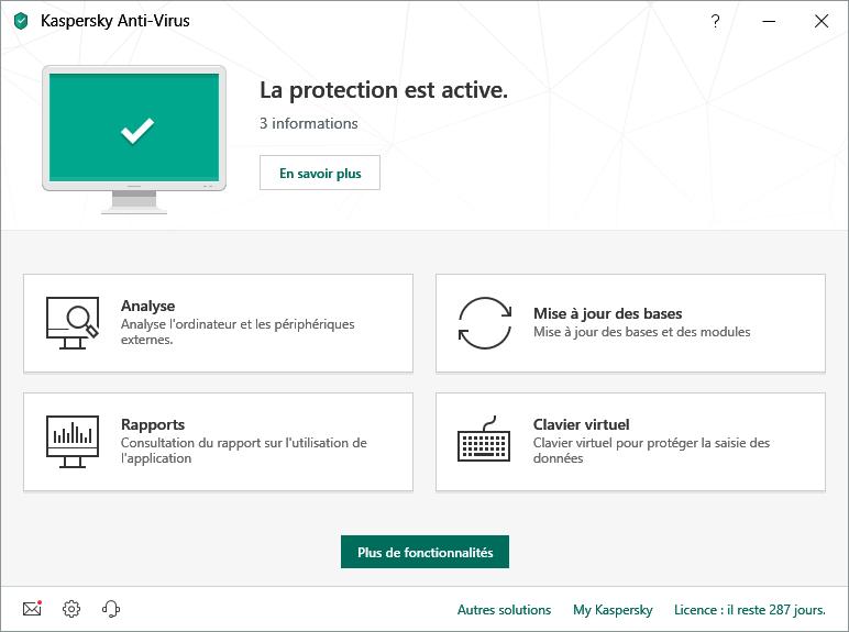 Kaspersky : le meilleur antivirus ?