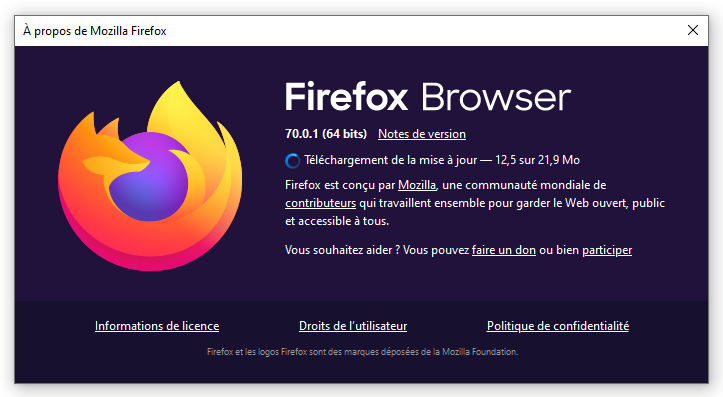 Pour quel système télécharger Mozilla Firefox ?