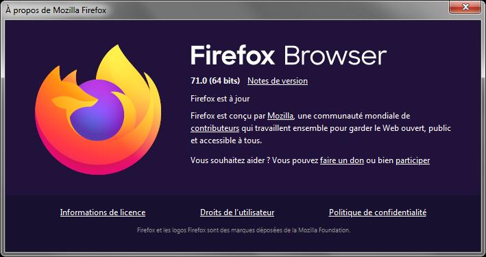 Minimo rend Mozilla compatible avec les mobiles