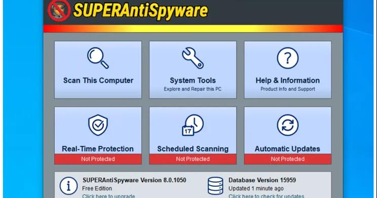 Quel rôle joue SUPERAntiSpyware ?